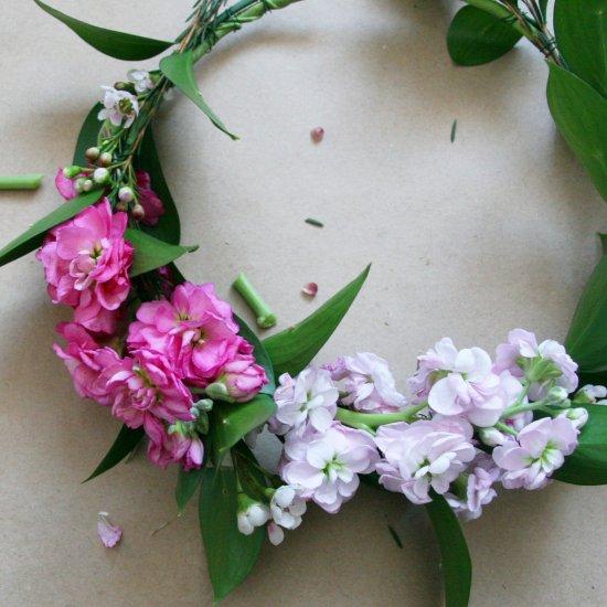 DIY Spring Floral Crown