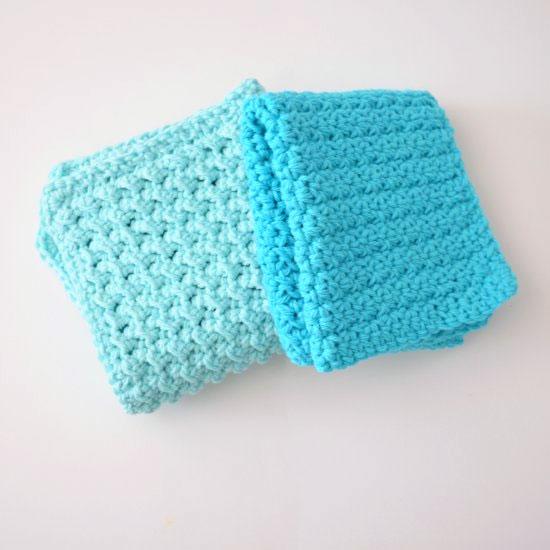 Easy Textured Washcloths