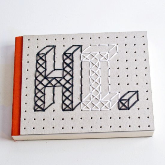 Stitchable Notebook