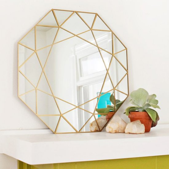 Gem Mirror DIY