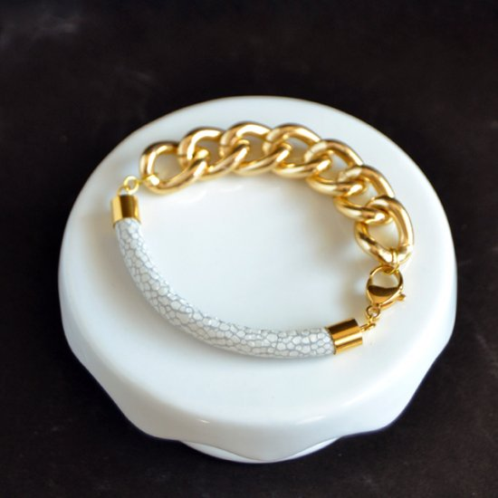 Stingray Chunky Chain Bracelet