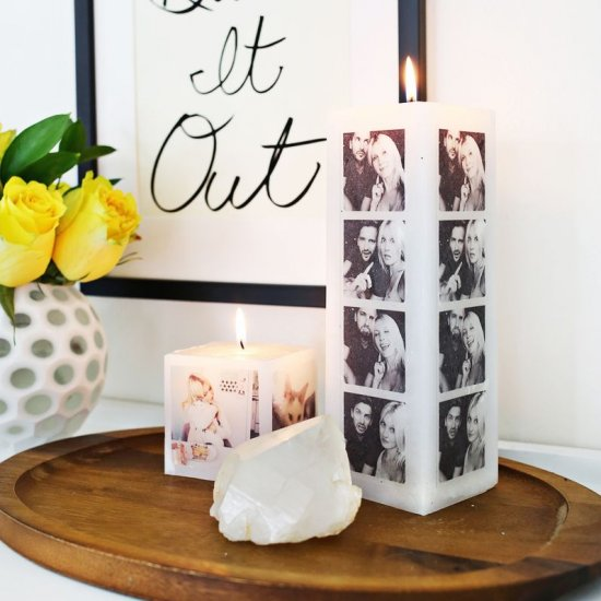 Make Your Own Photo Candle
