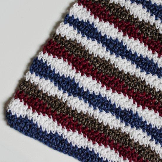 Crochet Wavy Blanket Pattern
