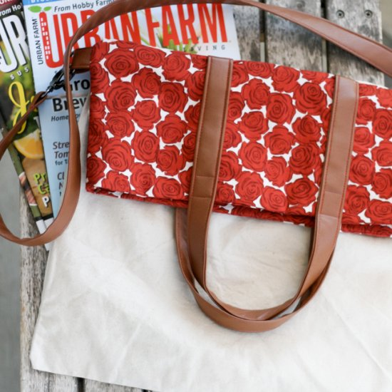 Fold Over Tote Tutorial