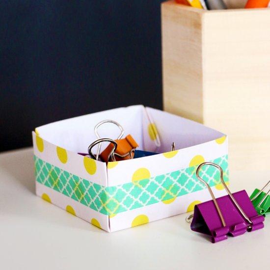 DIY Mini Paper Box