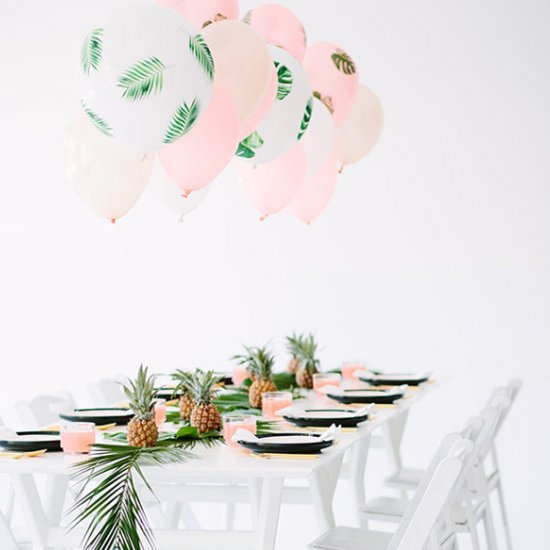 Chic Tropical Party Inspiration