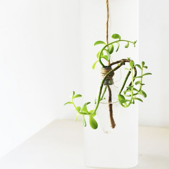 Lamp Bulb Vase and Stand Tutorial