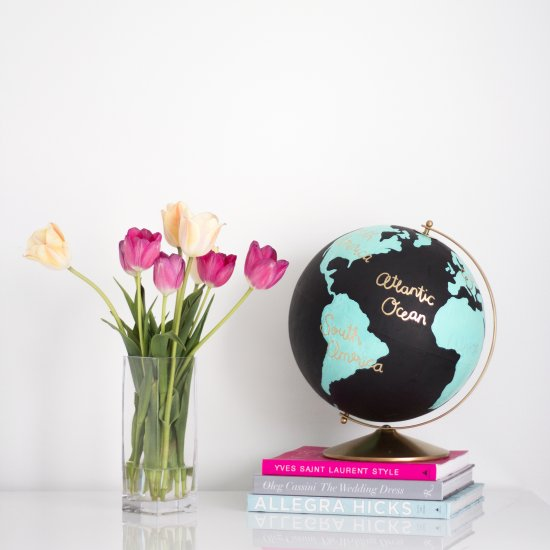 DIY Wanderlust globe