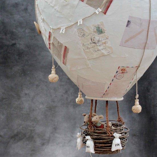 DIY Papier Mache Hot Air Balloon