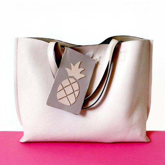 Make a Leather Pineapple Pouch