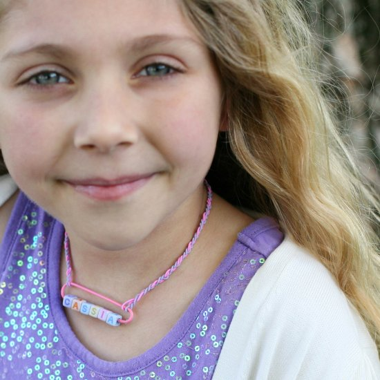 $1 Rainbow Personalized Necklace