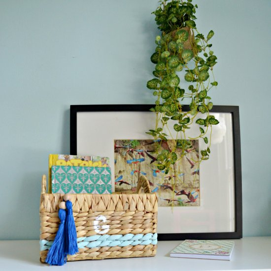 Personalize An Everyday Basket
