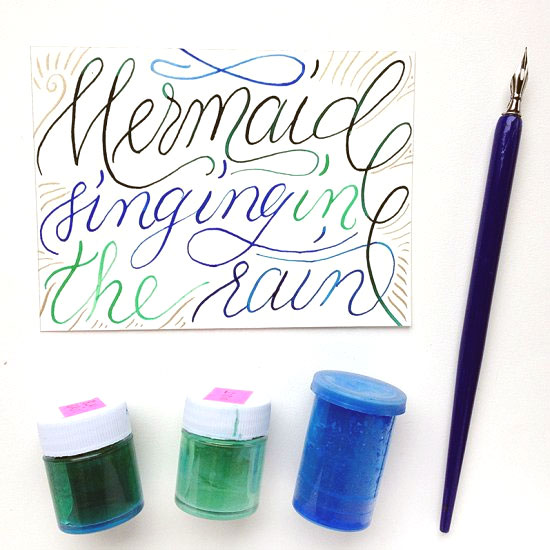 Learn Calligraphy in Color
