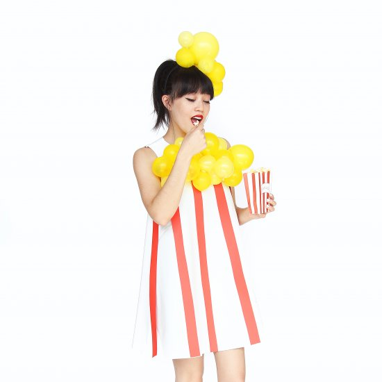 How to Make a Popcorn Halloween Costume Popcorn Halloween Costume