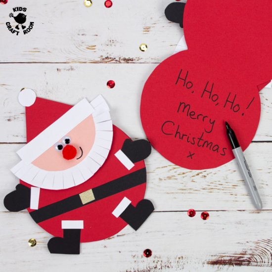 Santa Christmas Crafts